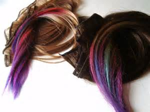 can hair extensions be colored dyed picture 3