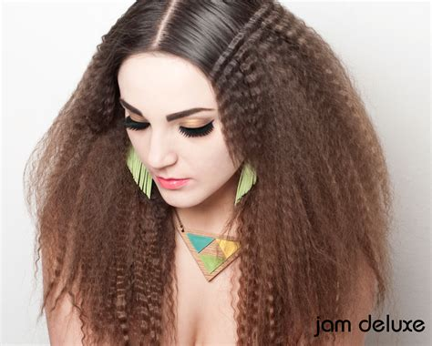 african american hair crimps picture 2