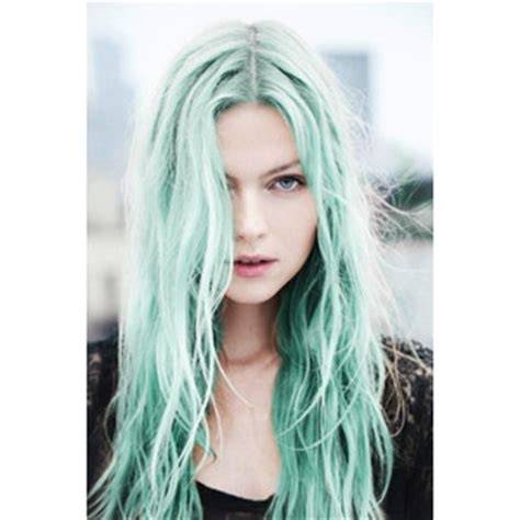 color hair green temporarially picture 5