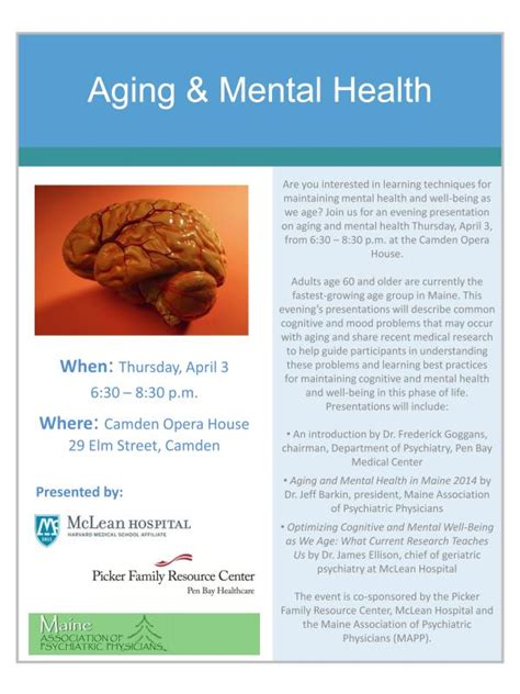 aging and mental health picture 1