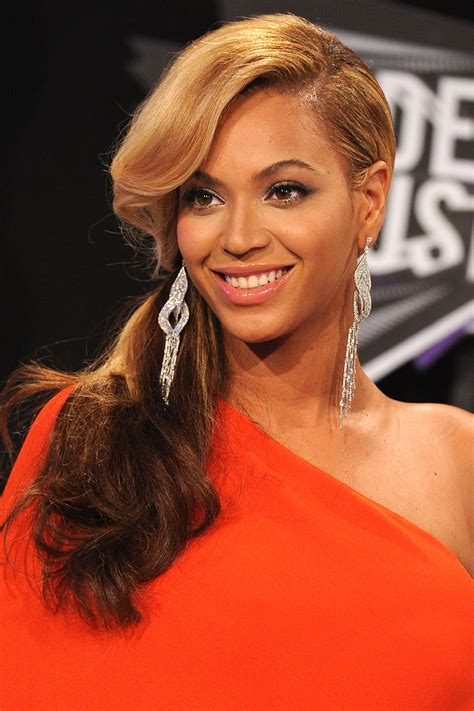 beyonce real hair picture 2