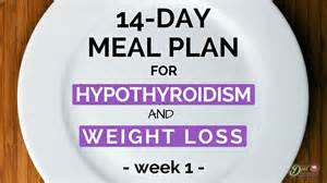 best weight loss plan for underactive thyroid picture 1