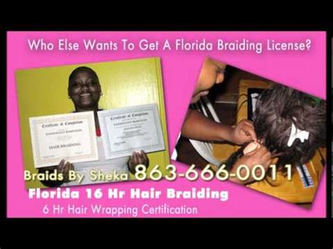 florida online hair braiding 16 hour training certification picture 3
