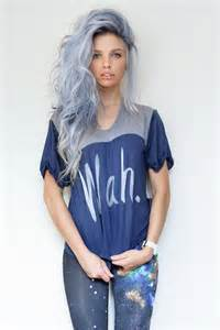 blue dye for gray hair picture 3