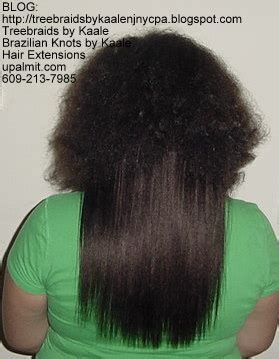 hair extension track picture 7