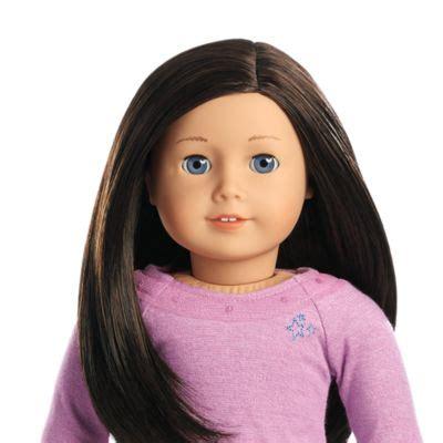american girl brown hair blue eyes picture 1