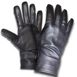 leather gloves picture 1