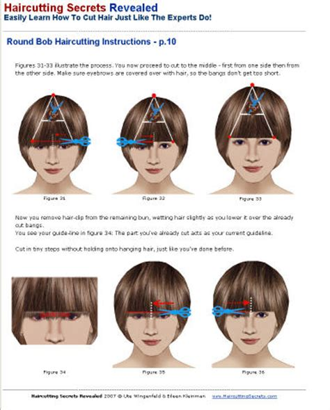 cut hair instructions picture 1