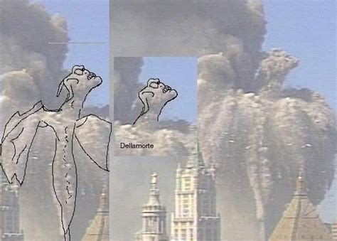 faces on smoke on wtc fire picture 4
