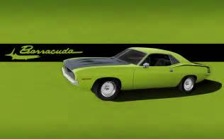muscle car barracuda picture 1