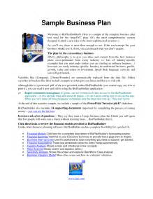 Free online business plan guide picture 3