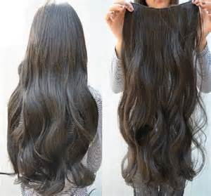 clip on hair wefts picture 14
