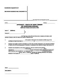 affidavit of death of joint tenant picture 7