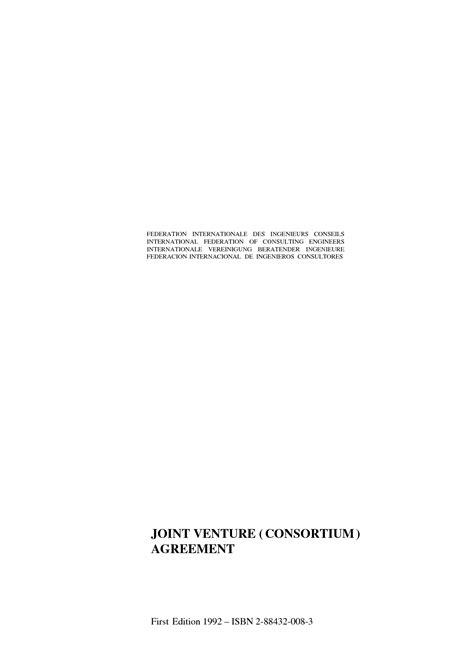 fidic joint venture consortium agreement picture 11