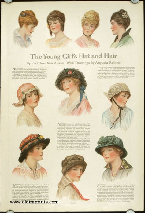 women's hair in 1914 picture 1