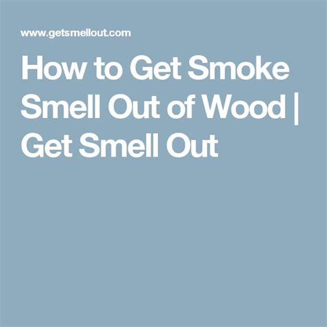 how to rid your house of smoke smell picture 5