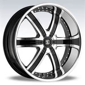 custom black rims with chrome lip whole sale picture 2