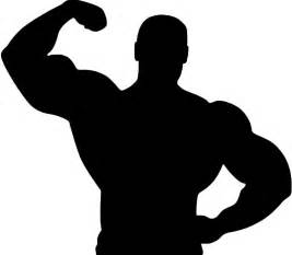 free muscle man clipart picture 9