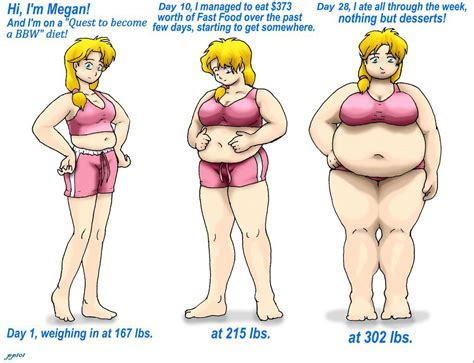 weight gain anime picture 17