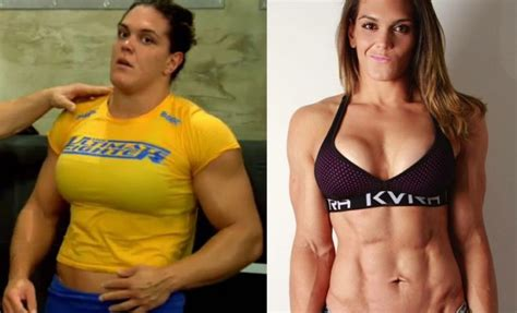 very muscular women wrestling picture 6