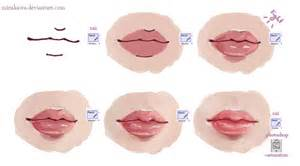 tutorial drawing lips picture 6