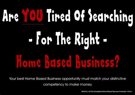 home based business opportunity picture 2
