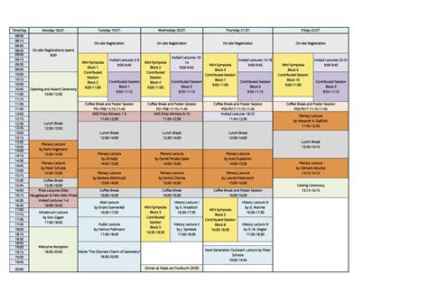 schedule picture 11