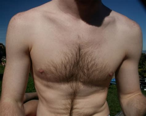 stop hair growing your chest picture 9