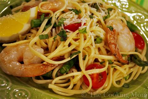 wine shrimp angel hair pasta picture 3