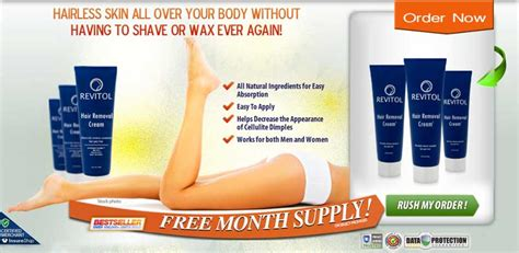 can revitol hair removal cream be used with picture 1
