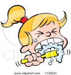 free teeth flossing clipart picture 7