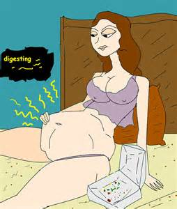 girl vore digestion picture 1