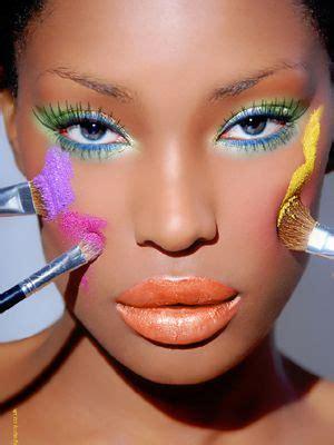 applying make up dark skin picture 11