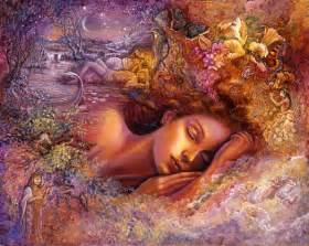 romantic paintings of sleeping women picture 10