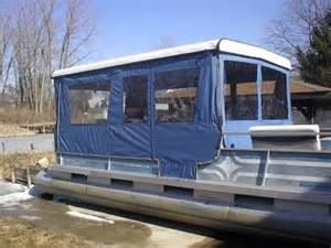 pontoon boats sleeping picture 5