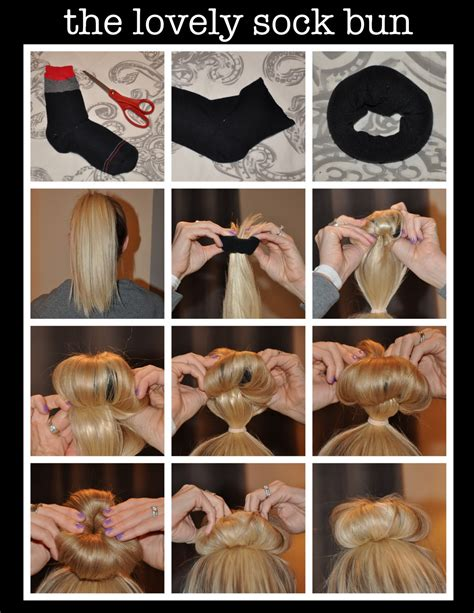african hair buns with sock picture 14
