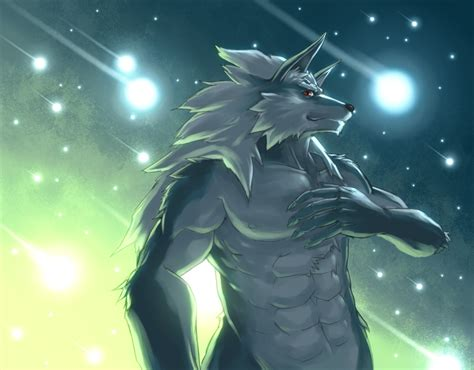 furry muscle picture 5