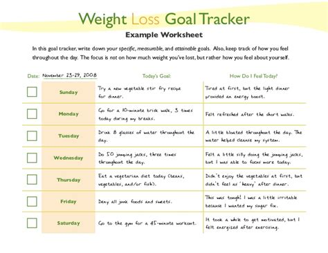 setting weight loss goals picture 5