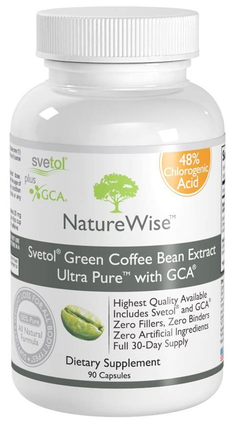 gca pure green coffee bean extract picture 6