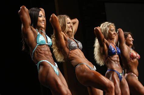 women bodybuilding wrestling picture 1