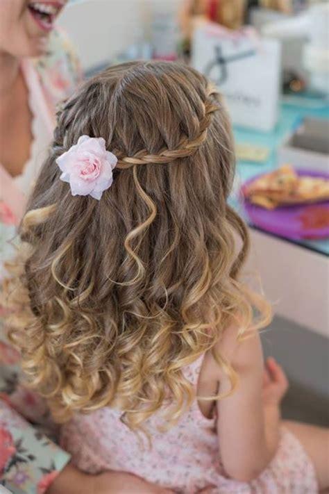 flower girl hair doos picture 3