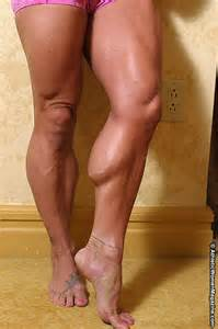 fat women muscle calves picture 1