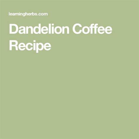 dandelion coffee picture 5