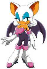 rouge the bats growth picture 1
