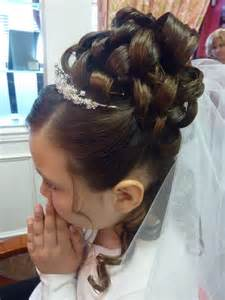 communion hair picture 5
