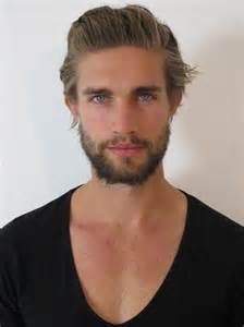 blonde hair model men picture 6