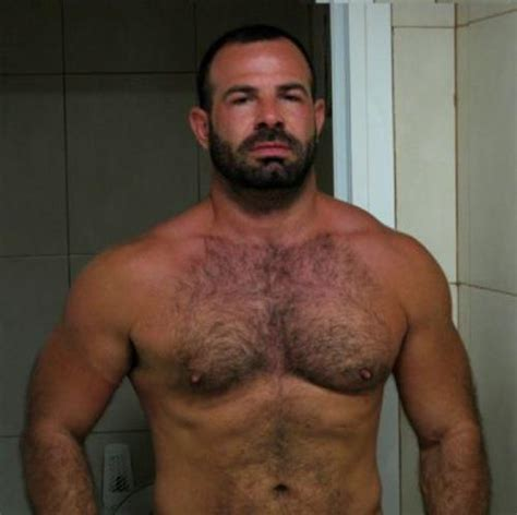 muscle bear hair picture 3