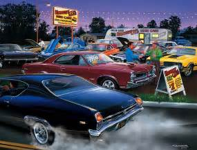 muscle car art picture 2