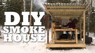 how to build a smoke house picture 11