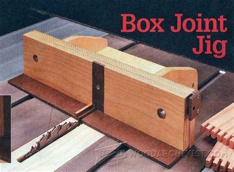 advanced box joint jig plans picture 11